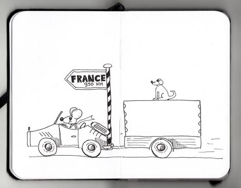 Naar Frankrijk
